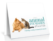 animal note card