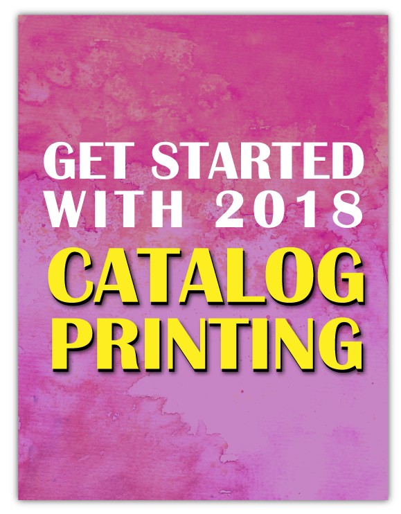 Catalog Printing Getting Started