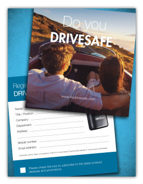 DriveSafe Contest Flyer Example