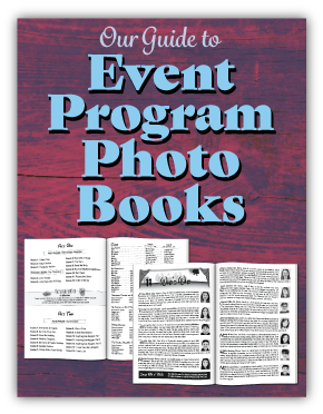Our Guide to Event Program Photo Books