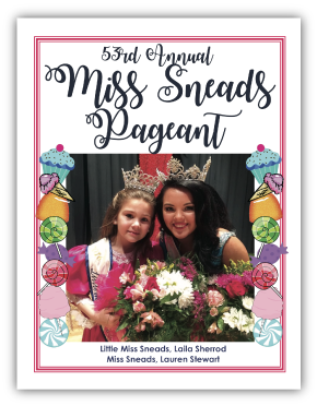 Beauty Pageant Program Photo Book Example
