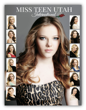 Miss Teen Pageant Program Photo Book Example