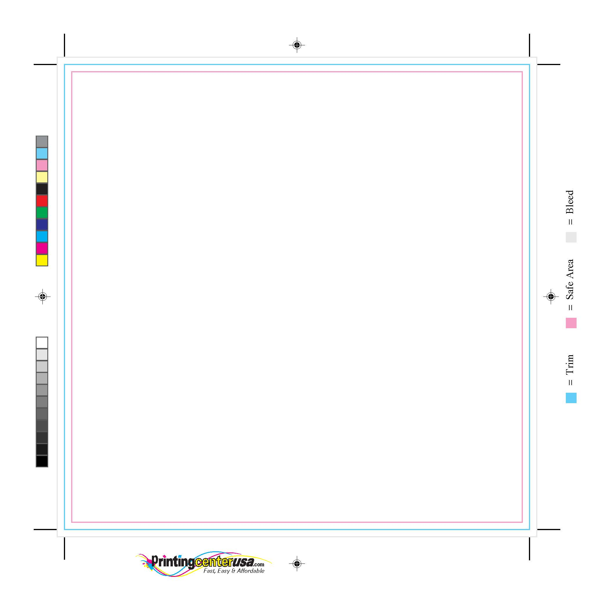 Program Template Printingcenterusacom - Blank brochure template